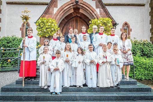Hausen im Wiesental Erstkommunion in St Josef in Hausen