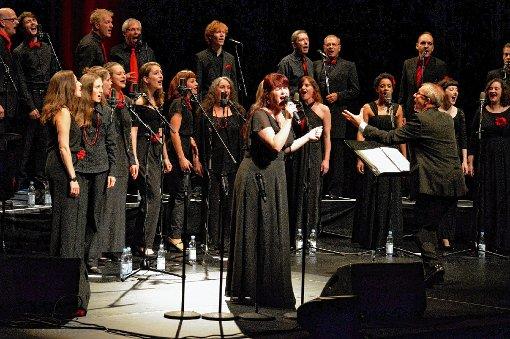 Sänger und Musiker boten eine tadellose Leistung.  Foto: Veronika Zettler Foto: Die Oberbadische