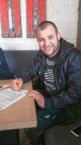 Der WKG-Neuzugang Nikolay Dimitrov. Foto: zVg Foto: Die Oberbadische