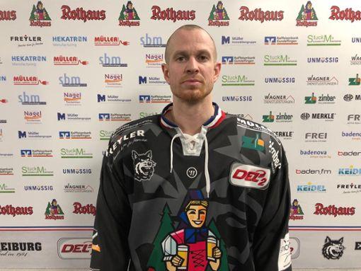 Jozef Balej neu beim EHC Freiburg. Foto: zVg
