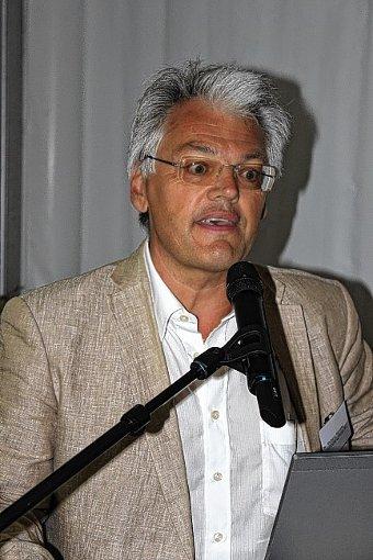 Richard Hirzeler ist der Projektleiter von Roche bei der Sanierung der Kesslergrube.    Foto: Archiv Foto: Die Oberbadische