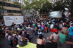Das Free Cinema würde gerne wieder auf dem Marktplatz ihre Filme unter freiem Himmel zeigen. Fotos: Kristoff Meller Foto: mek