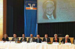 Der Aufsichtsrat der VR-Bank.   Foto: Hans-Jürgen Hege Foto: Markgräfler Tagblatt
