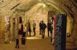 Kunstpositionen im Gewölbe Foto: Die Oberbadische