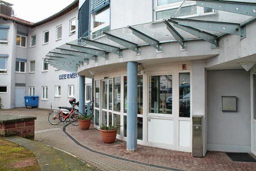 Die Umbau- und Erweiterungsbauarbeiten am Luise-Klaiber-Haus schreiten derzeit zügig voran.    Foto: Alexandra Günzschel Foto: Weiler Zeitung