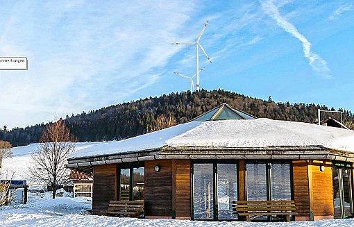 Aus der Erfahrung mit dem Streit über die Gersbacher Windkraftpläne plant die Stadt jetzt eine Fachtagung für   Kommunen aus dem gesamten Schwarzwald.   Pojektion: Linné 3D Foto: Markgräfler Tagblatt