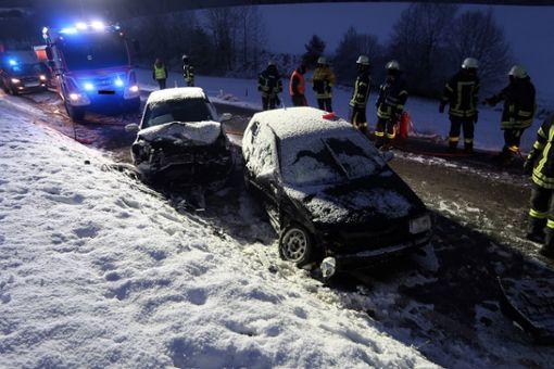 Bei der Kollision wurde die 21-jährige Fahrerin des Hyundai leicht verletzt. Es entstand Sachschaden in Höhe von etwa 9000 Euro. Foto: Polizeipräsidium Freiburg