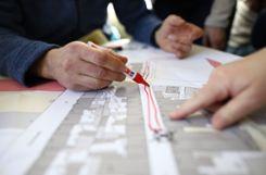 Beim Workshop wurden die Ideen zunächst in Kleingruppen gesammelt und anschließend im Plenum vorgestellt. Foto: Kristoff Meller Foto: mek