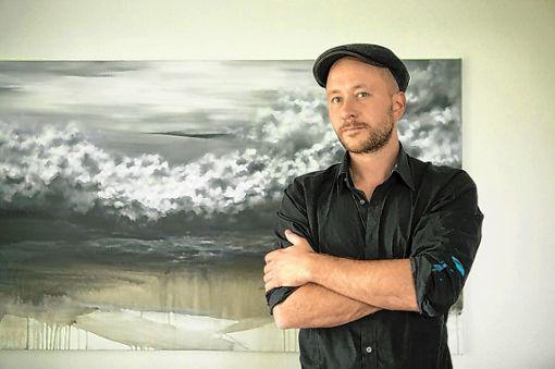 Landschaftlich inspirierte Welt abstrakter Formen: David Stegmann stellt vom 21. April an in der Kulturfabrik aus.    Foto: zVg Foto: Markgräfler Tagblatt