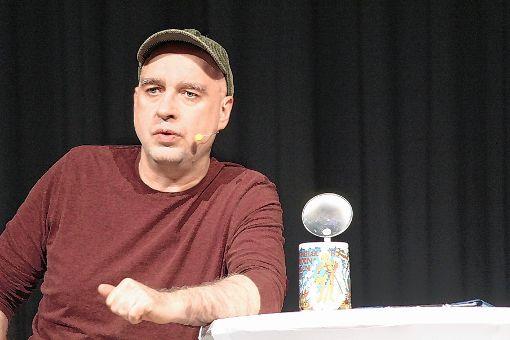 """Der aus Gelsenkirchen stammende Kabarettist HG. Butzko gastierte bei """"Kabarett im Bürgersaal"""".      Foto: Gerd Lustig Foto: Die Oberbadische"""