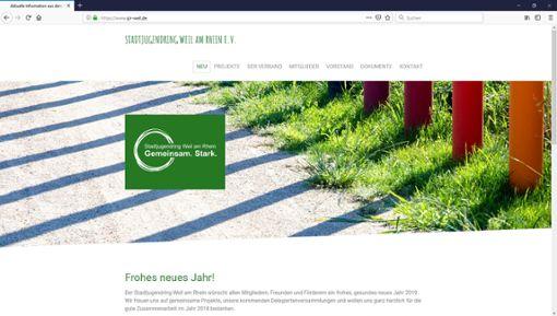 Der Stadtjugendring Weil am Rhein hat zum Jahreswechsel eine neue Internetseite ins Netz gestellt. Foto: Alexander Anlicker