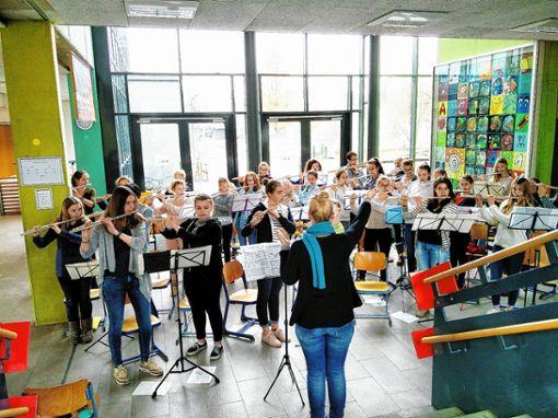 """Das Querflötenorchester """"Flautissimo"""" ist am Samstag, 28. April, in Steinen zu Gast.   Foto: zVg Foto: Markgräfler Tagblatt"""