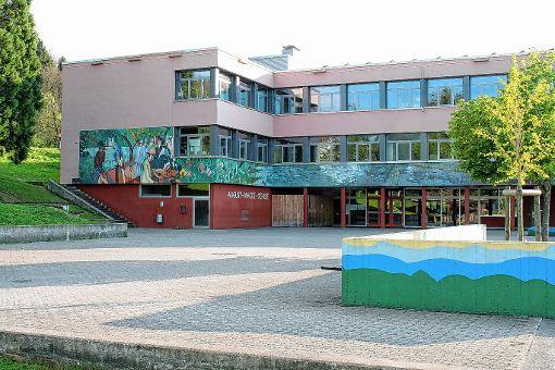 Für die Mensa der August-Macke-Schule werden weitere Aufträge vergeben.  Foto: Saskia Scherer Foto: Weiler Zeitung