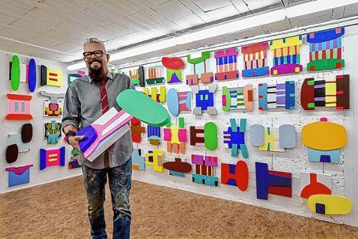 Ivano Facchinetti in seinem Atelier. Foto: zVg