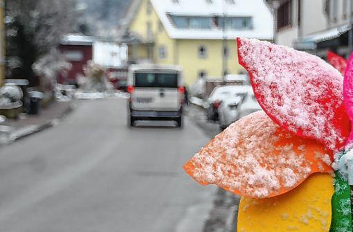 Ein Teilstück der Lörracher Straße wird ab Montag gesperrt. Foto: Harald Pflüger