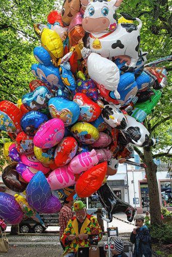 Luftballonmann.     Foto: Archiv Foto: Markgräfler Tagblatt