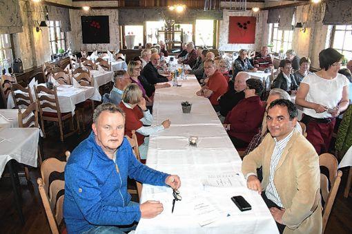 Der Vortrag von Rechtsanwalt Fidler stieß auf großes Interesse bei den Senioren.   Foto: Fabry Foto: Markgräfler Tagblatt
