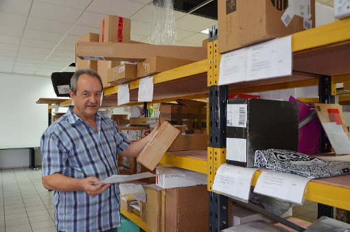 15000 Kunden, vornehmlich Schweizer, hat Edgar Geiger inzwischen.   Fotos: Sarah Trinler Foto: Die Oberbadische