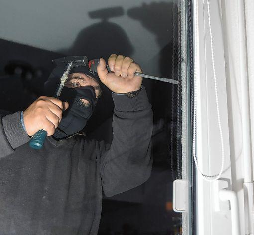 Der Verurteilte war an Einbrüchen beteiligt.    Foto: Symbolfoto: Archiv