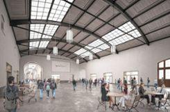 Der Elsässersaal soll ein zweites Bahnhofszentrum werden. Foto: Die Oberbadische