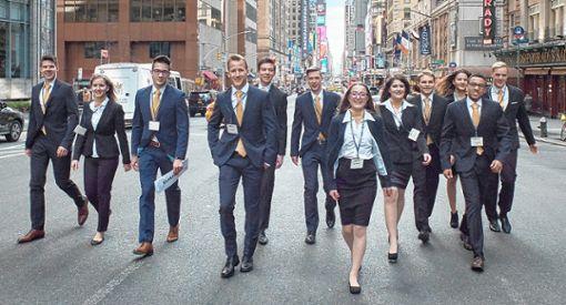 Zum 7. Mal beteiligten sich DHBW-Studenten an der UN-Simulationskonferenz in New York.   Foto: zVg Foto: Die Oberbadische