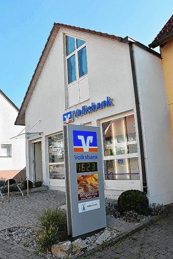 Für immer geschlossen: die Volksbank in Inzlingen. Foto: Monika Vollmar