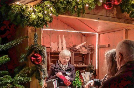 Vorweihnachtliche Stimmung soll wieder auf dem Weingut Schneider in Alt-Weil aufkommen. Foto: Börries von Oeynhausen