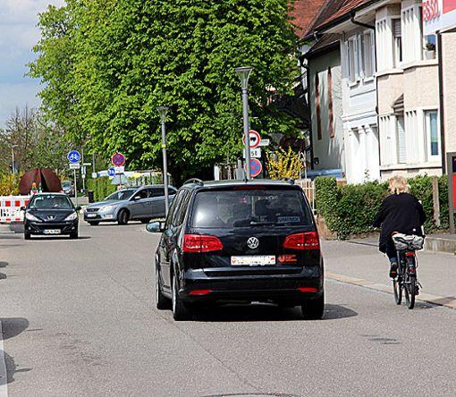 Wenn es nach der IG Velo geht, sollte die Verkehrsplanung in der Humboldtstraße überdacht werden. Foto: Siegfried Feuchter Foto: Weiler Zeitung