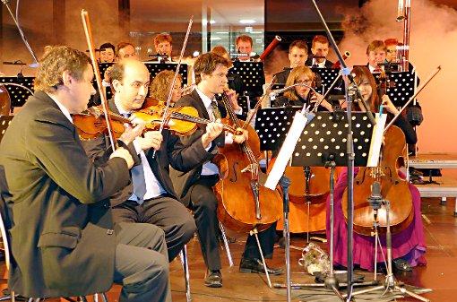 """Das """"Orchester Linie 38"""": Engagiert und mit vorzüglich unterhaltender Präzision  Foto: Willi Vogl Foto: Die Oberbadische"""