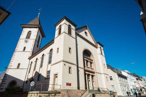 Die Stadtkirche muss saniert werden.   Foto: Kristoff Meller Foto: Die Oberbadische
