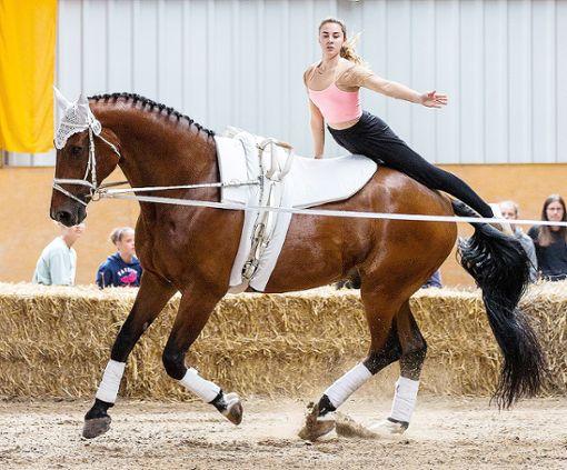 Eine der erfolgreichen Nachwuchssportlerinnen beim RVL: Cléo Juillerat bei den Landesmeisterschaften in Schwaigern, wo sie Platz acht belegte. Foto: zVg