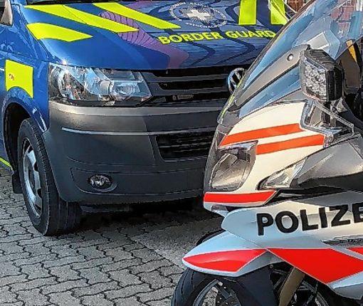 Zoll und Polizei arbeiteten zusammen.   Foto: zVg Foto: Die Oberbadische