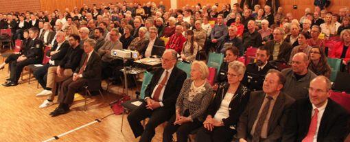 Impressionen vom Bad Bellinger Neujahrsempfang Foto: Claudia Bötsch