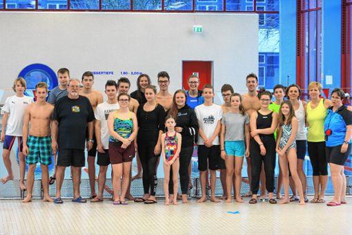 Die Schwimmer der SG Badenweiler-Neuenburg freuen sich über gute Ergebnisse. Foto: zVg