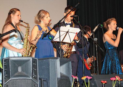 Die Abi-Band. Foto: Markgräfler Tagblatt