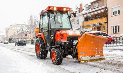 Die Schneepflüge des Werkhofs hatten in diesem Winter noch nicht viel zu tun. Foto: Kristoff Meller Foto: Kristoff Meller