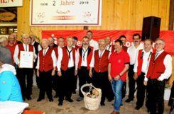 Die Band, die über drei Jahrzehnte den Sallnecker Vatertagshock musikalisch begleitet hat, geht nun in Rente.     Fotos: Heiner Fabry Foto: Markgräfler Tagblatt