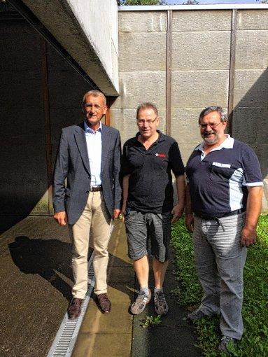 Armin Schuster,    Alfred Schöne und Berthold Schlageter (v.l.)              Foto: zVg Foto: Weiler Zeitung