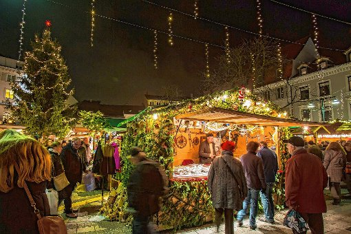 Stimmungsvoll: der  Weihnachtsmarkt   Foto: Kristoff Meller Foto: Die Oberbadische