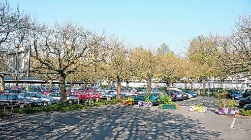 Öffentliches Parken in Basel.     Foto: Juri Weiss Foto: Die Oberbadische