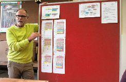 Schulleiter Ernst Niepmann sieht die Lindenschule Wyhlen mit dem jetzt vorgestellten Konzept zur schrittweisen  Einführung des  Ganztagsschulbetriebes auf einem guten Weg.   Fotos: Tim Nagengast Foto: Die Oberbadische