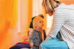 Über Kinderbetreuung und andere familienspezifische Themen diskutierte der Kinderschutzbund mit drei  Bürgermeisterkandidaten.    Foto: Archiv Foto: Markgräfler Tagblatt