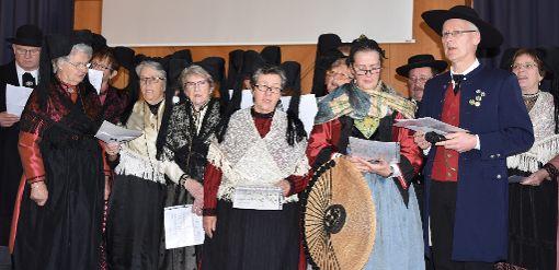 Unter den Preisträgern war auch der Markgräfler Trachtenverein aus Kandern, der für eine musikalische Begrüßung sorgte.   Foto: Michael Werndorff Foto: Die Oberbadische