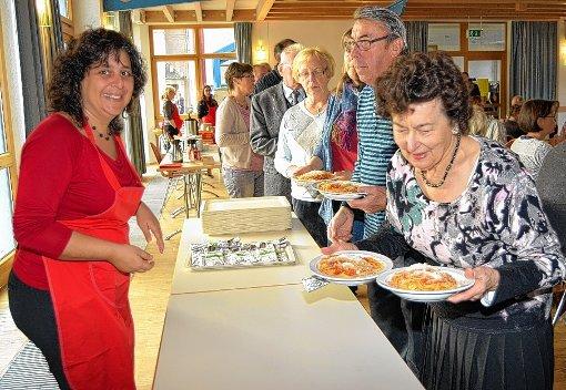 Beim Pasta-Sonntag konnte man sich an Spaghetti gütlich und zugleich Gutes tun.  Foto: zVG/Danielle Hirschberger Foto: Die Oberbadische