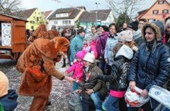 Ein spendabler Fuchs: Nicht alle Gestalten sahen so vertrauenserweckend aus. Foto: Weiler Zeitung