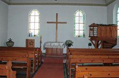 Das Innere der altkatholischen Adelbergkirche in Rheinfelden soll neu gestaltet werden.     Foto: Ulf Körbs Foto: Die Oberbadische