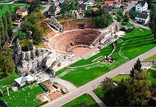 Das Amphitheater von Augusta Raurica   Foto: Archiv Foto: Die Oberbadische