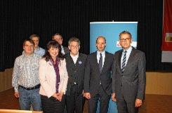Günther Oettinger erläuterte beim CDU-Kreisparteitag die Flüchtlingeskrise aus europäischer Sicht. Foto: Die Oberbadische