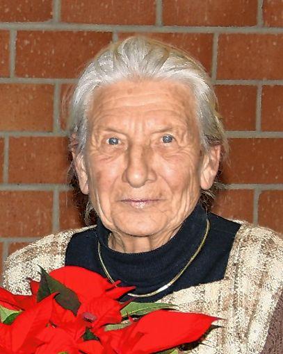 Ruth Noack.   Fotos:   H. Pflüger Foto: Markgräfler Tagblatt
