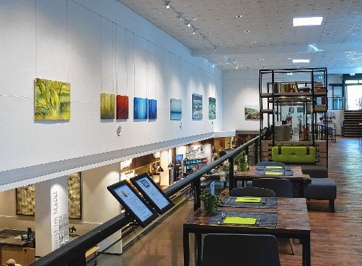 """Die Reihe """"Kunst im Markt"""" hat sich etabliert.  Foto: zVg Foto: Die Oberbadische"""